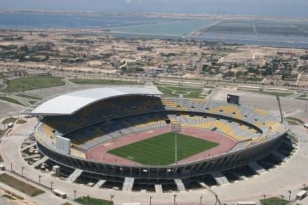#10: Borg El Arab Stadium in Alexandria, Egypt - 86,000 Seats
