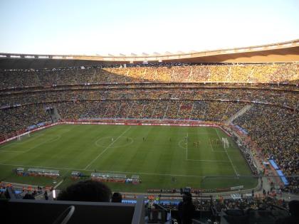 #5: FNB Stadium in Johannesburg, South Africa - 94,736 Seats